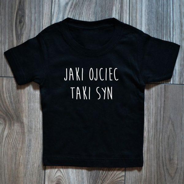 Koszulka dziecięca z napisem