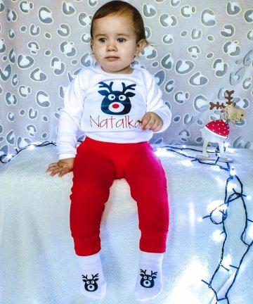 komplet świąteczny niemowlę