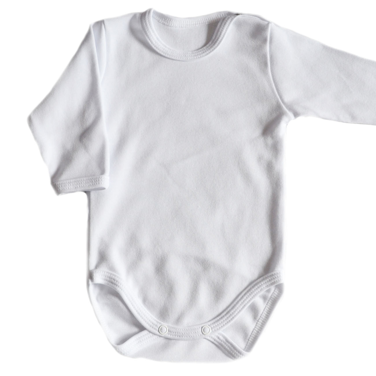 body niemowlęce gładkie białe