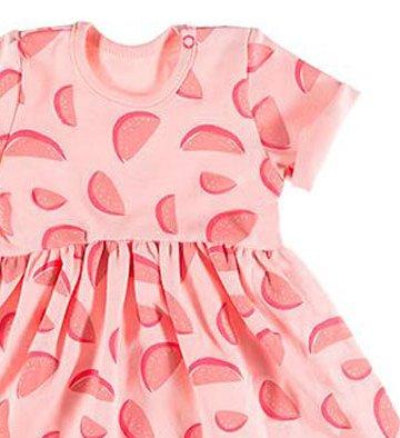 sukienka dla dziewczynki koral