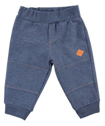 Spodnie dresowe dla chłopca granatowe