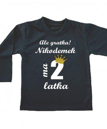 Koszulka na 2 urodziny