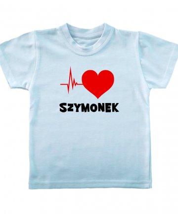 Koszulka Puls Serca z imieniem