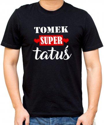koszulka dla taty z imieniem