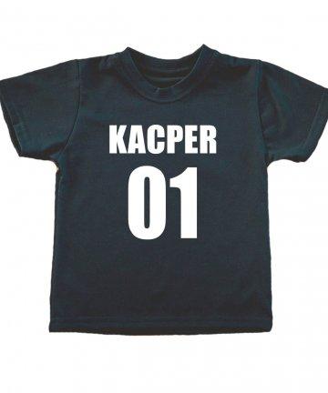 Koszulka do szkoły na WF z imieniem i numerem