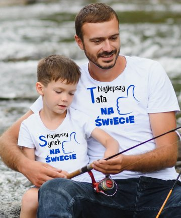 koszulki najlepszy tata synek