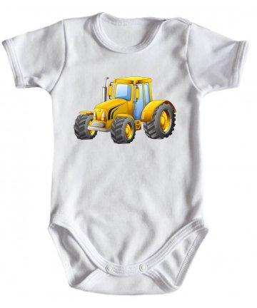 Body niemowlęce z traktorem