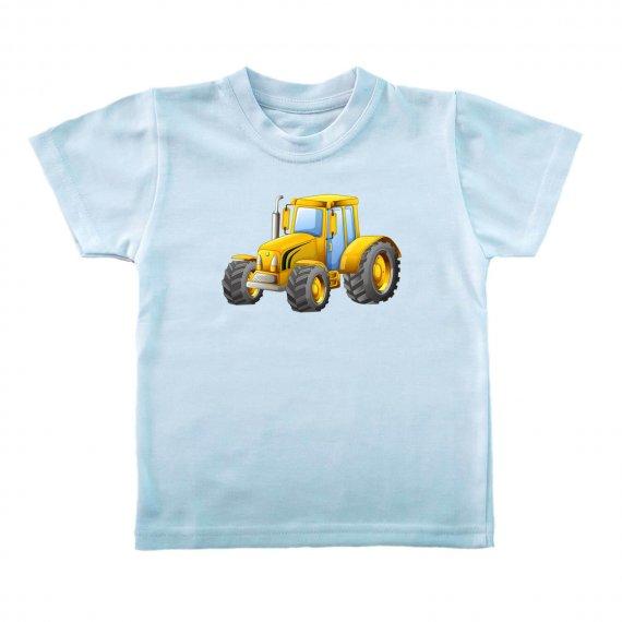 koszulka z traktorem