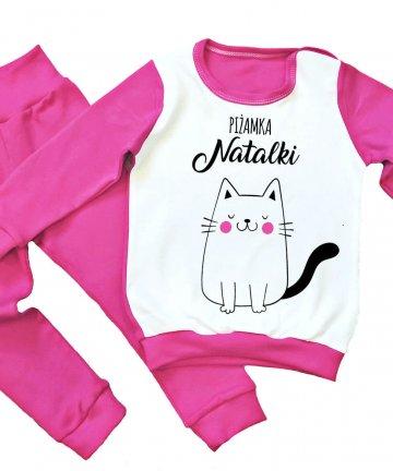 Piżamka dziecięca z nadrukiem