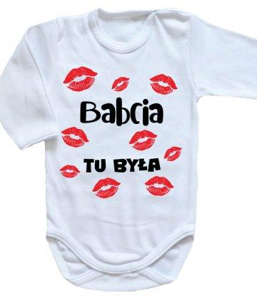 Body niemowlęce BABCIA tu była