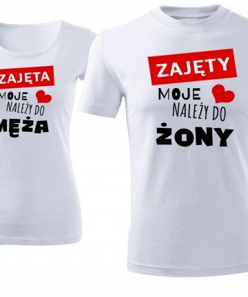 koszulki na walentynki dla męża i żony