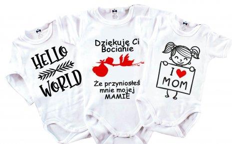 Bodziaki jako podstawowy element wyprawki dla niemowląt